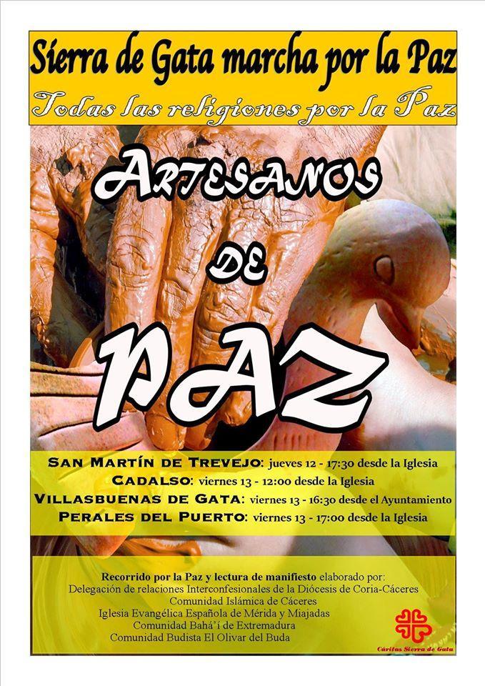 Cartel XVIII Marcha Sierra de Gata
