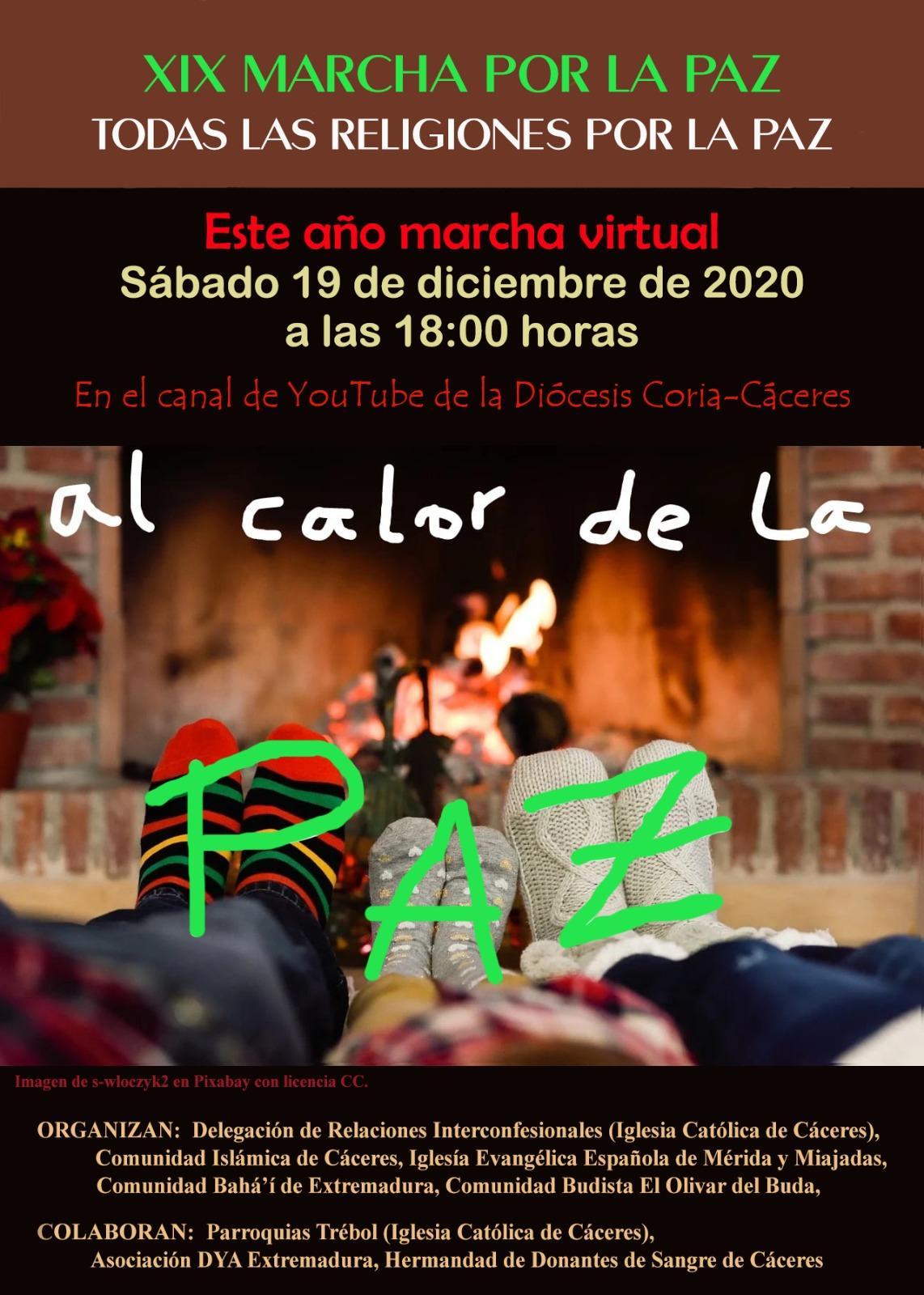 """XIX MARCHA POR LA PAZ: """"Al Calor de la Paz"""""""